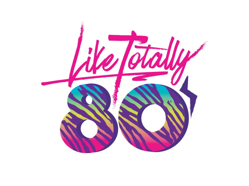Like Totally 80s by Keely Mann   Dribbble   Dribbble - photo #2