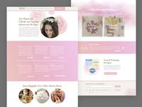 Wedding & Event Website Sneak Peek
