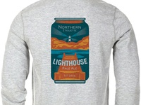 Fall Beer Can Shirt Design