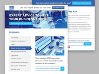 Site Design for Financial Firm