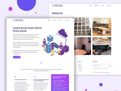 Web design landing page responsive webdesign uiux website interface ux ui web