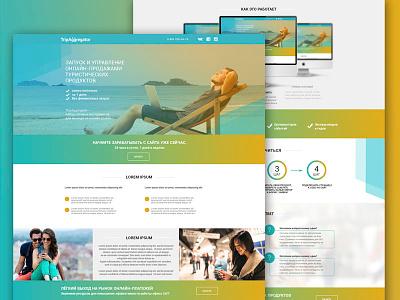 Startup landing page landing page ux ui web interface website landing