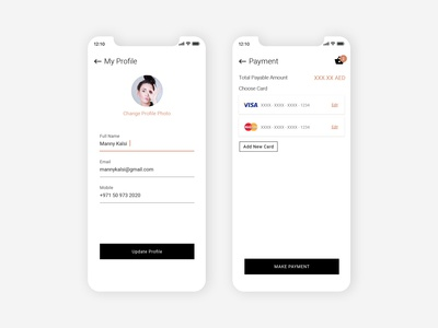 Profile & Payment
