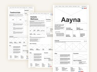 Aayna Website