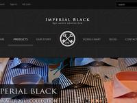 Imperial Black's E-Commerce Website