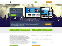 Command Partners Website Redesign