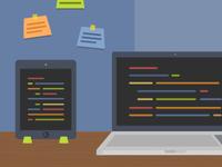 Web Dev Services Illustration