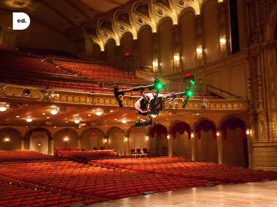 Vancouver Civic Theatres - Behind The Scenes  bts digital photography drone video animation website process branding design