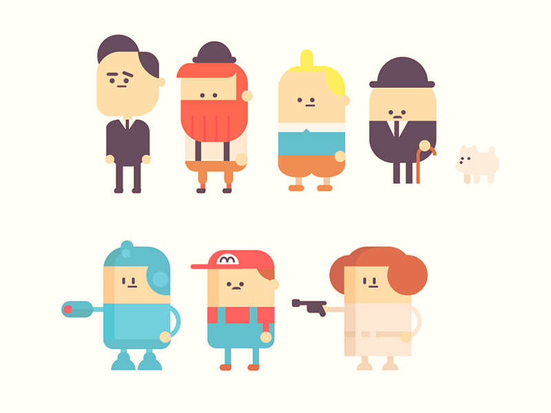 Character Design Illustration : Random character study by jonathan dahl dribbble