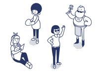 Characters iZettle