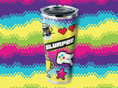 Slupree Reusable Gamer Cup internet culture meme cup tervis gamer slurpee