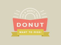 Donut Miss This Final