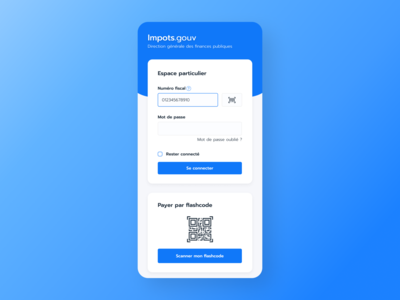 Impot.gouv - App Redesign
