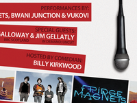 Scottish Alternative Music Awards™ (SAMA™) Performers Poster.