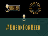 Sabbatical Brewing Co. Branding