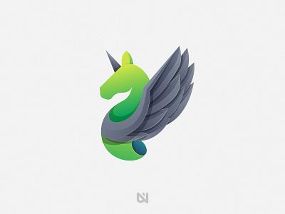 Green Horse art