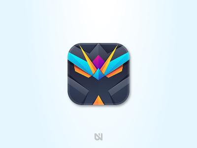 Robot Icon icon art