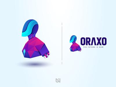 "Oraxo ""The Future is Now"" robot future art"