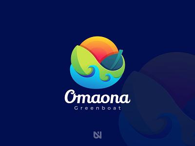 "Omaona ""Greenboat"" art"