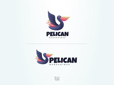 Pelican animal art