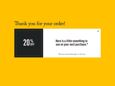 Daily UI 016 – Pop-Up / Overlay promotion voucher coupon overlay pop up daily ui 016 daily ui