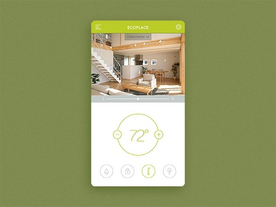 Daily UI 021 – Home Monitoring temperature home monitoring daily ui 021 daily ui