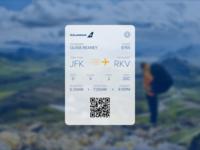 Daily UI 024 – Boarding Pass