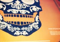 The Front Skatepark Skull Poster