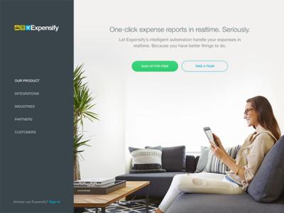 New Use.Expensify.com Site
