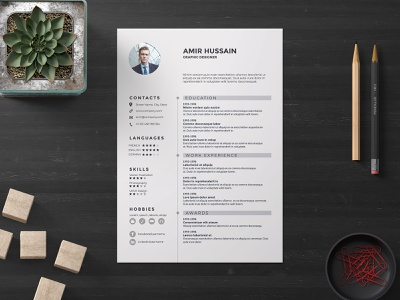 Free - Corporate Resume Template careers interview coverletter recruitment resumetips resumewriter employment creative resume clean free resume job hiring jobs cv career jobsearch resume download freebie free