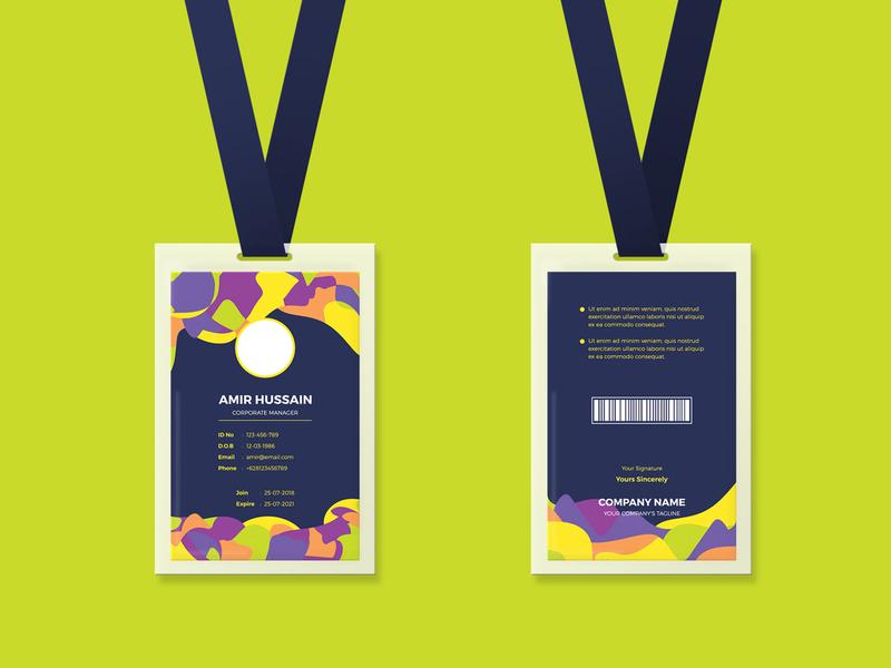 Free - Corporate ID Card brand brand identity branding stationery brochure freeidcard banner percetakanmurah idcardjogja cetakidcard idcardkulit nametag idcardholder idcardmurah idcard freebie psd template free download free