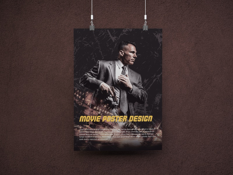 Free. Movie Poster Template art logo graphicdesigner posters banner posterart graphic artwork illustration designer graphicdesign posterdesign branding design poster freebie psd template free download free