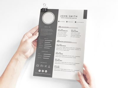 Free Download Corporate Resume Template interview coverletter recruitment resumetips resumewriter employment hiring jobs psd career jobsearch job cv creative resume clean free resume resume download freebie free