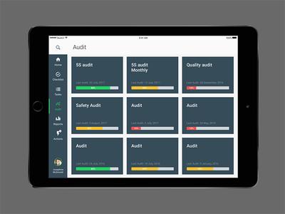 EZGO app ui minimalistic