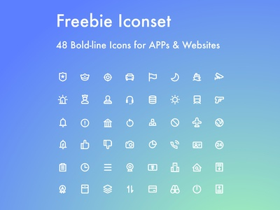 [Iconset#002] 48 Freebie Icons for You
