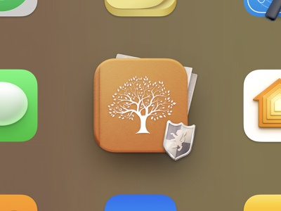 MacFamilyTree 9 Big Sur Icon page shield book free resource replacement icons application app apple big sur macos png icns synium family tree family download icon freebie