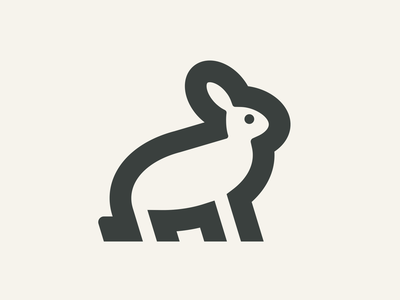 Rabbit icon icons logo design vector graphic design minimal logo icon flat design animal icon