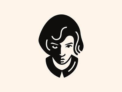 -Beth Harmon- The queen's gambit illustrator vector graphic design minimal logo icon flat design the queens gambit beth harmon avatar icons avatar
