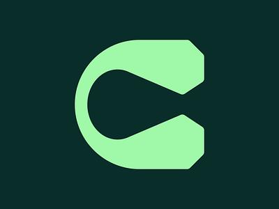 "Letter ""C"" design vector icon logo minimal typography lettermark monogram monogram logo 36daysoftype08 36daysoftype"