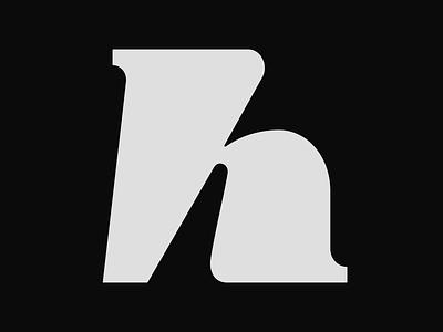 Letter h graphic design logo icon letter h letter h logo monogram design monogram logo lettermarklogo lettermark monogram 36days h 36daysoftype08 36daysoftype