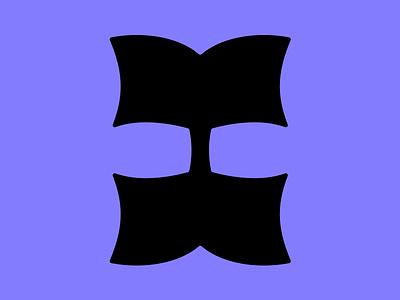 """Letter """"I"""" flat logo letter icon letter logo minimal lettermark monogram letter i 36days 36daysoftype"""