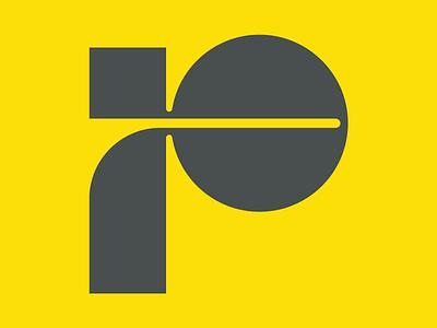 Letter P lettermark icon lettermark logo monogram logo monogram icon monogram lettermark 36daysoftype08 36days p 36days letter p graphic design design flat minimal logo icon 36daysoftype