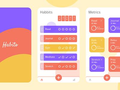 Habito - Habit Tracker App app figma android ios