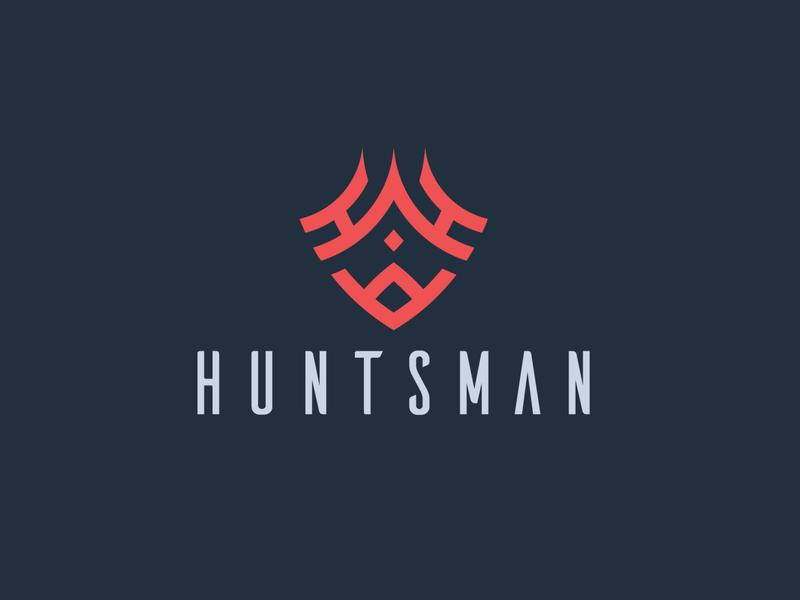 Huntsman logodesigner logodesign artwork logo clean character branding vector illustrator illustration graphic design flat design