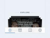 SeatGeek iOS tabbar