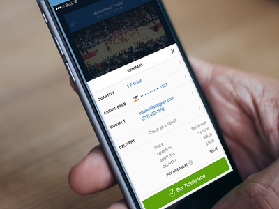 SeatGeek Checkout seatgeek checkout tickets mobile iphone buy e-ticket
