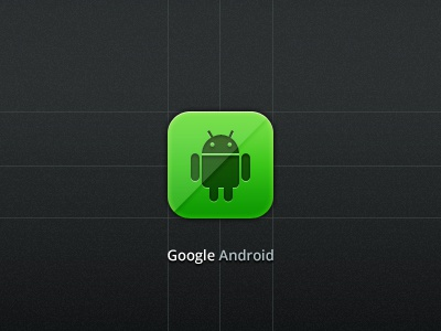 Google Android icon google android icon design green button free psd