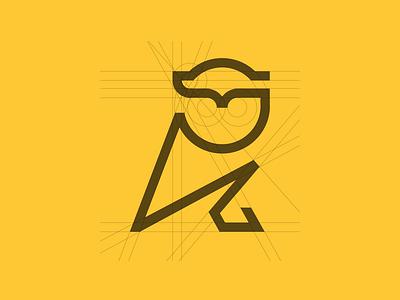 Minimal Owl graphics design branding graphicsdesign logos logotype logodesigner minimalism minimalist logo monoline minimal owl logo owl