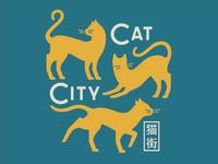 Cat city, city cat