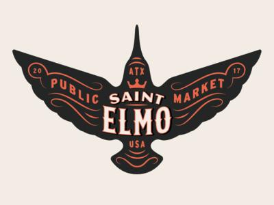 St.E color logo icon design hummingbird texas austin